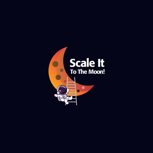 Logo for scake it to the moon