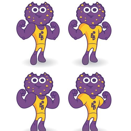 Cute cookie man Mascot