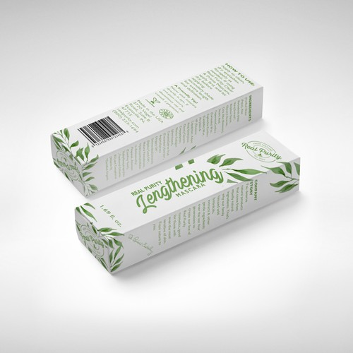 Lengthening mascara box