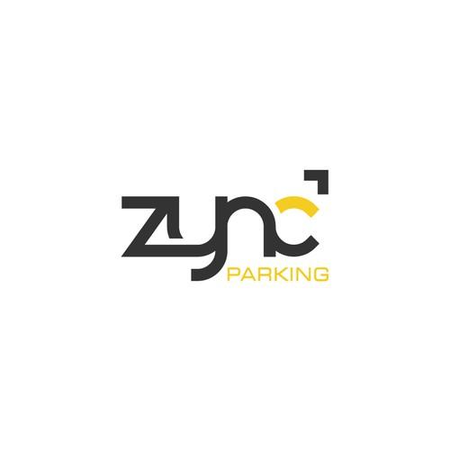 Create a simplistic and modern logo for ZYNC