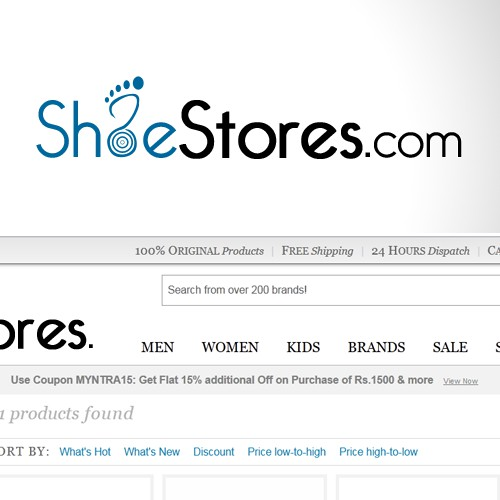 New logo wanted for ShoeStores.com