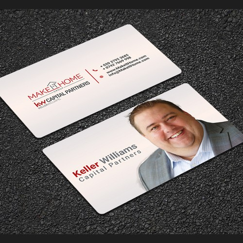 business card for Keller williams