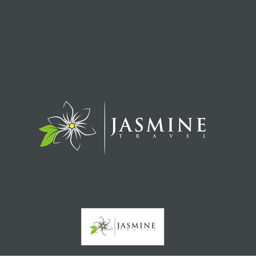 Create the next logo for Jasmine Travel