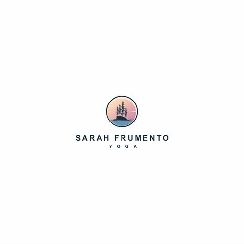 Sarah Frumento Yoga Logo