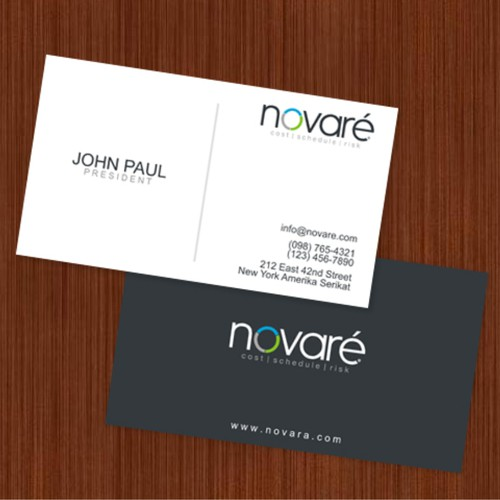 Logo and business card for a high end professional recruitment and search firm