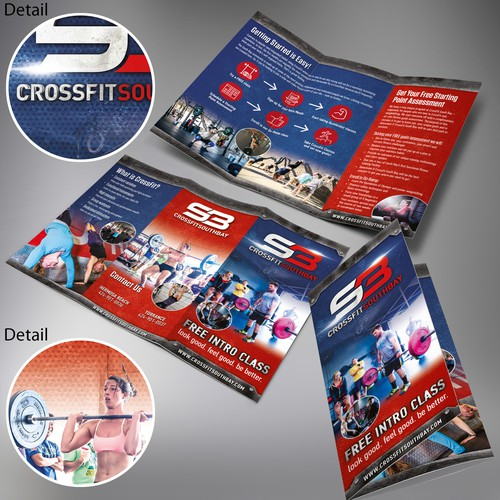 CrossFit South Bay Tri Fold Brochure