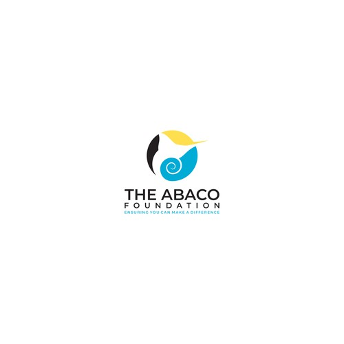 Bold logo concept for The Abaco Foundation