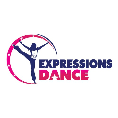 Logo concept for - EXPRESSIONS DANCE