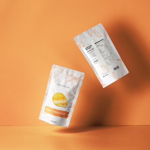 Zip bag packaging design