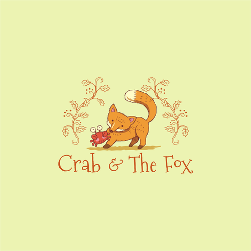 Logo for a Baby Boutique which name is inspired by a classic fable