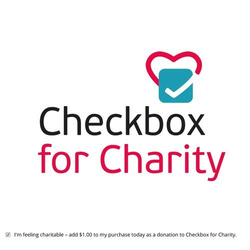 Logo design for Checkbox for Charity