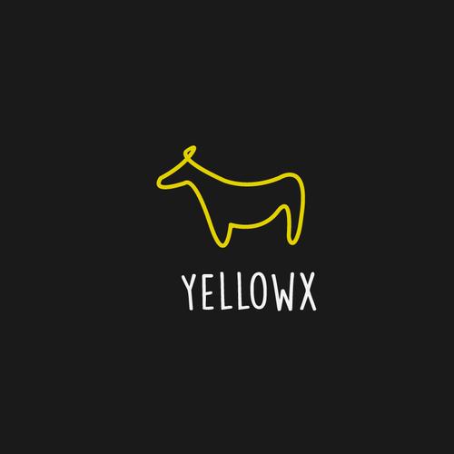 Concept logo for yellowx