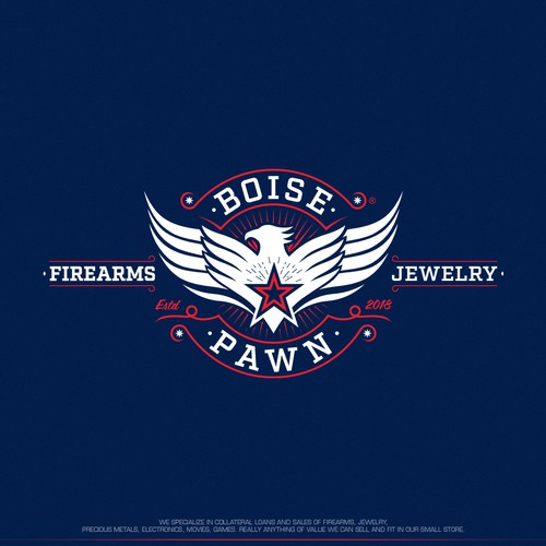 Logo design for Boise Pawn