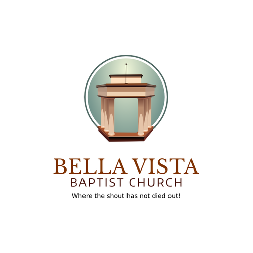 Create a powerful, eye catching Bella Vista Baptist logo