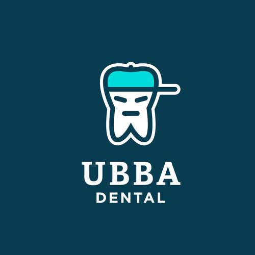 Logo for the dentist-rapper