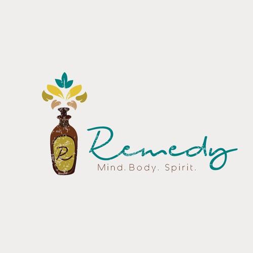 Logo concept for Remedy wellness