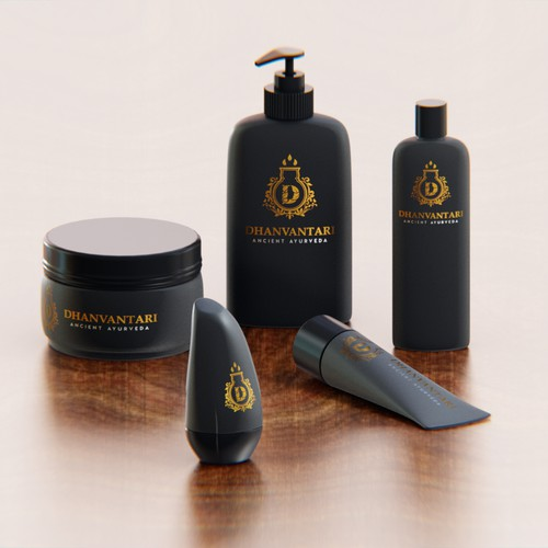 Beauty products - surreal renders
