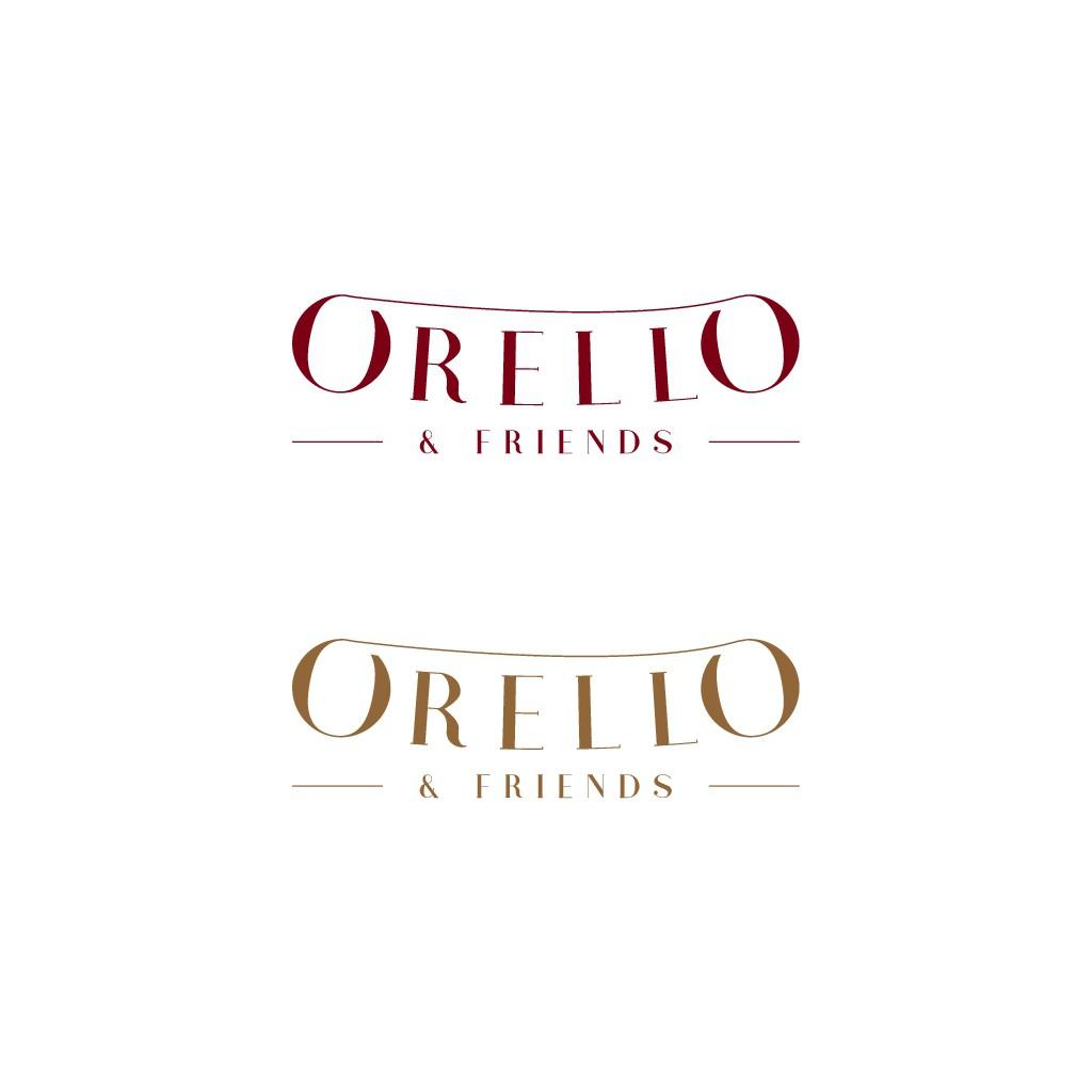 Orello & friends new logo for an Italian Restaurant in Switzerland