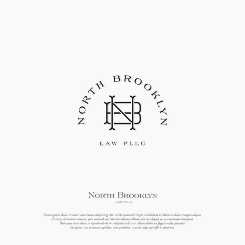Logo concept for North Brooklyn Law PLLC