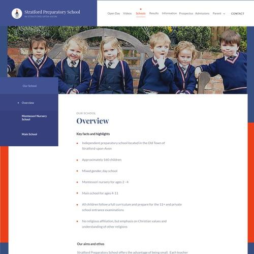 Stratford Preparatory School Sub Page