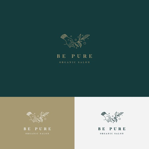 Logo Concept for Be Pure