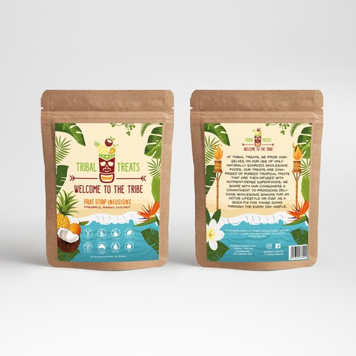Tribal Treats Packaging