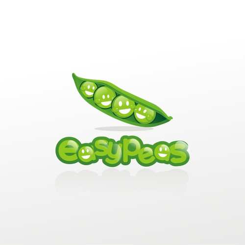 EASY PEAS needs a cool and friendly logo