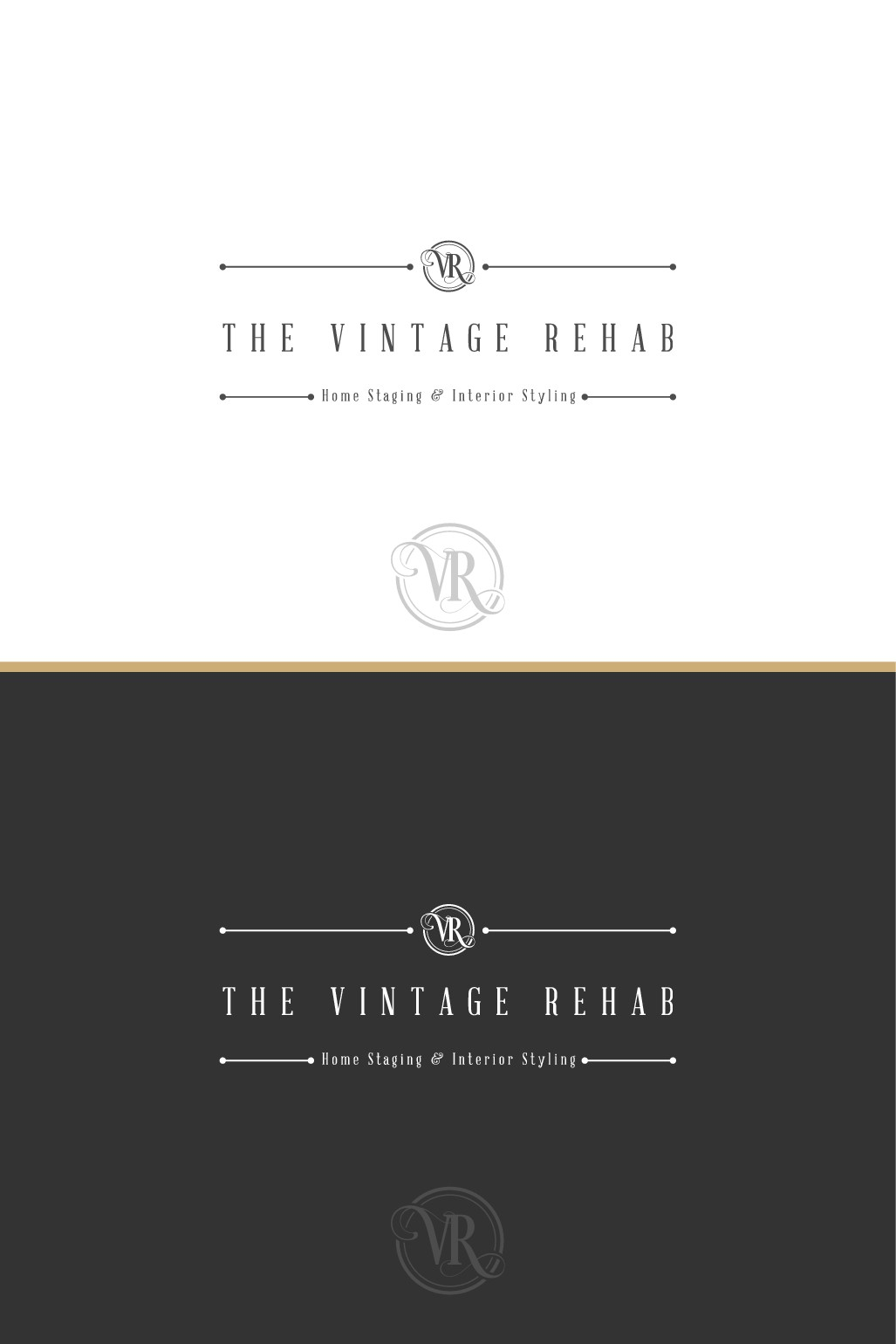 Create a logo for a home staging business and future decoration brand
