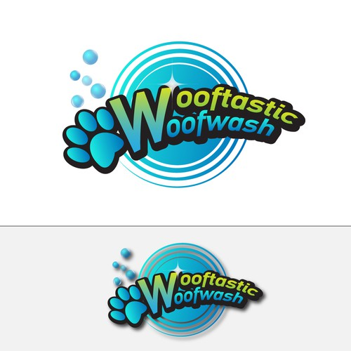 Please give me a design to make Wooftastic Woofwash a reality?