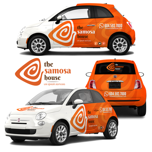 The Samosa House Vehicle Wrap