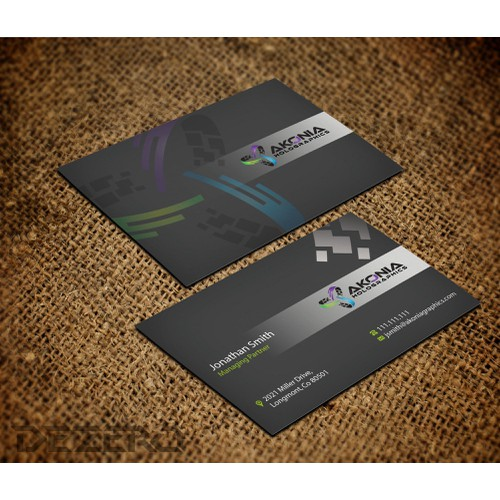 stationery for Akonia Holographics