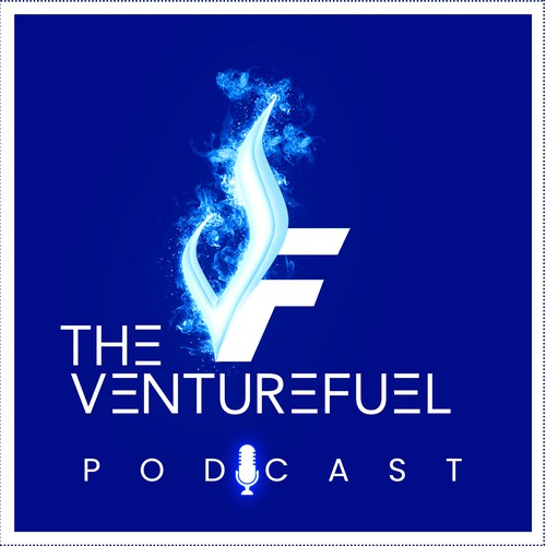 Dynamic podcast art to attract up-and-coming business innovators