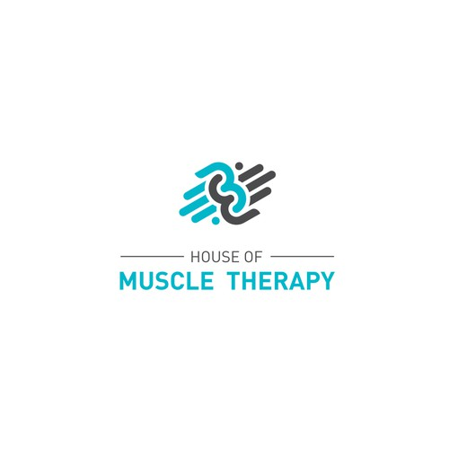 House of Muscle Therapy - Modern, Abstract & Premium logo required for Sports Massage + Athletic Fitness brand