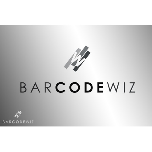 Website logo for barcode software company