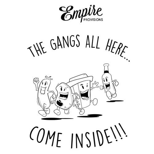 Empire Provisions Sign