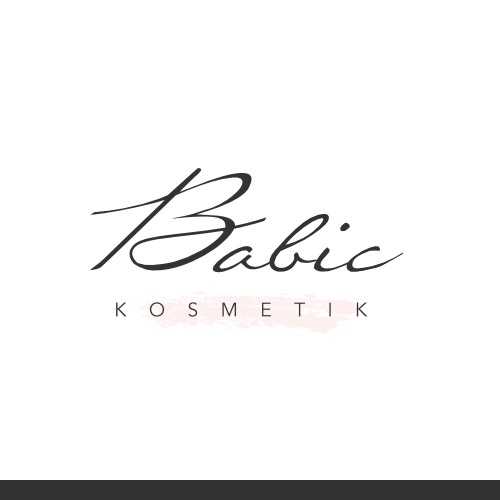 Clean logo for cosmetic business