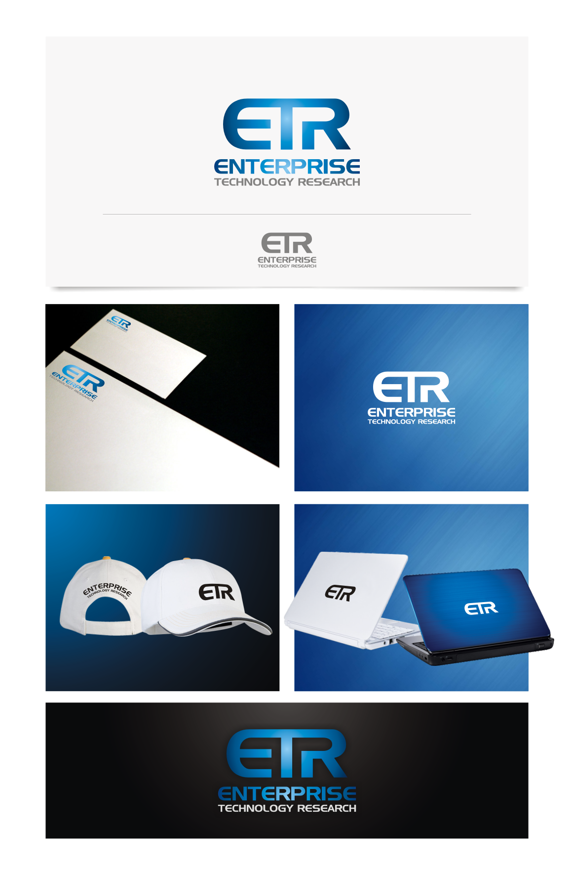 """Create the next logo for """"eTR"""" or version thereof for Enterprise Technology Research"""