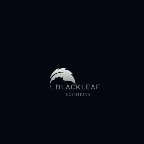 Black Leaf Logo