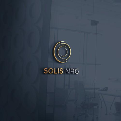 An elegant logo for a solar energy solutions retailer
