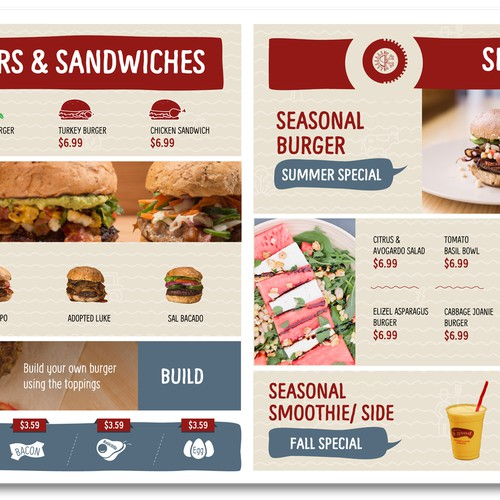 Fast Food Board