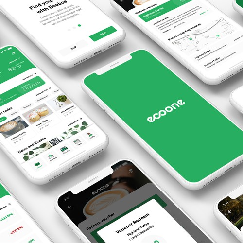 Ecoone - the future of smart-city interaction app