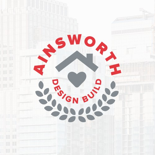 Modern Construction Badge Logo