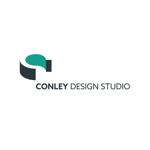 Simple, clean logo for an interior design studio.