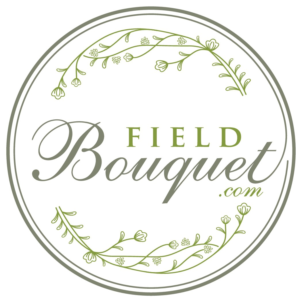 Natural authentic logo for FieldBouquet.com