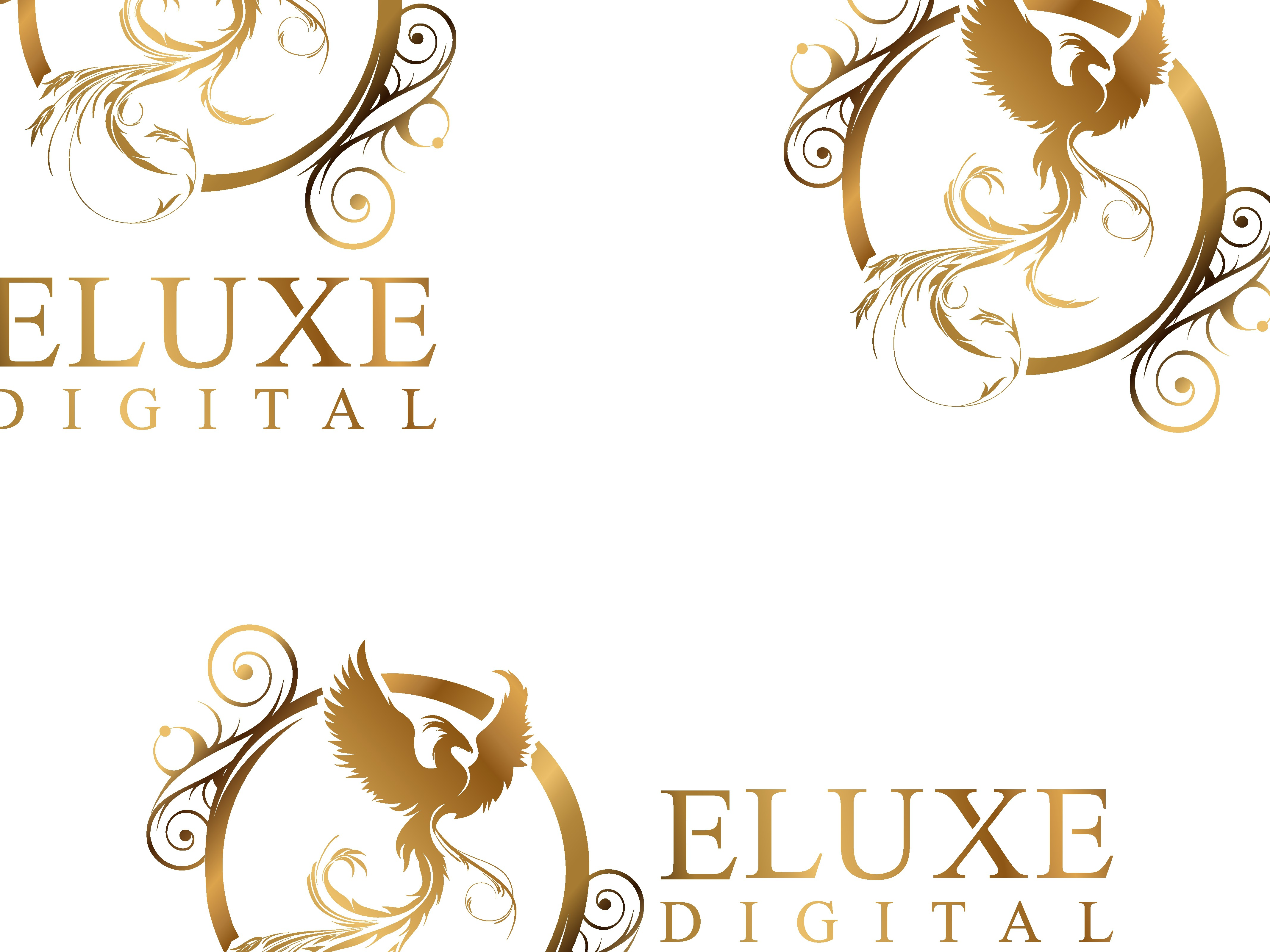 Logo design for marketing agency working with luxury accommodation businesses