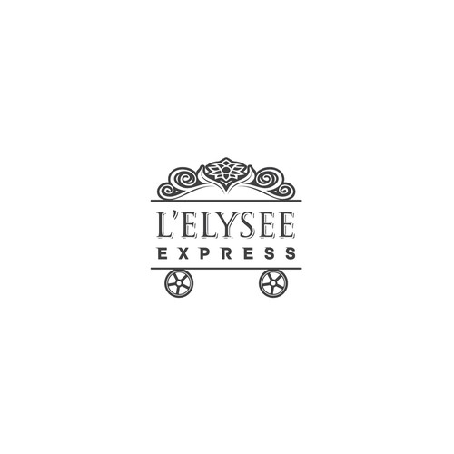 Logo for food delivery L'elysee