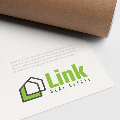 Updated logo for a Real Estate/Property fiem