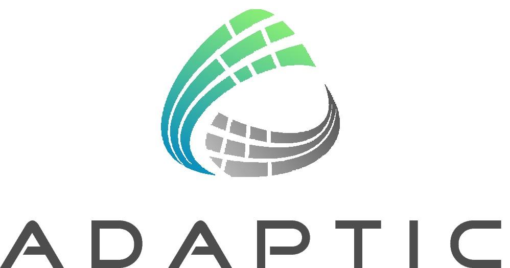 Adaptic - Design a modern logo for a new tech company