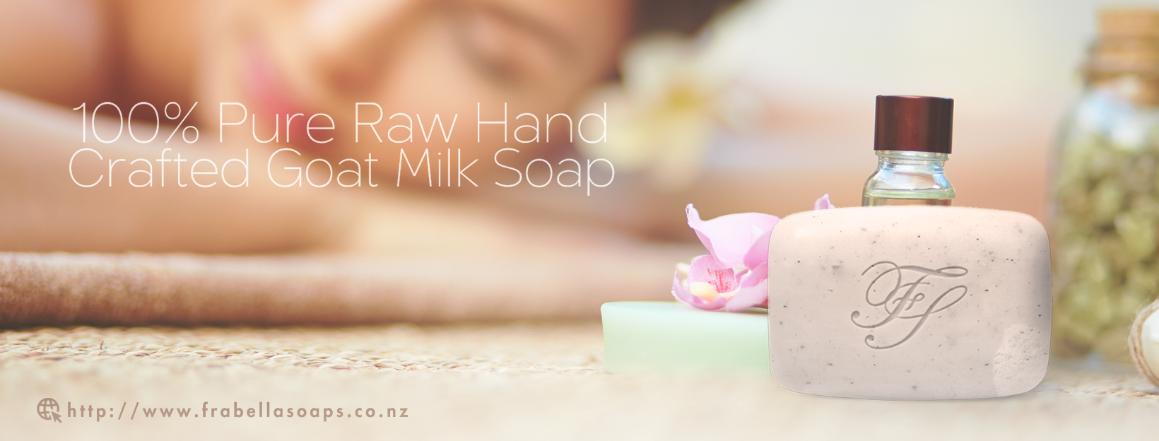 New Zealand Goats Milk Soap for high end luxury product market