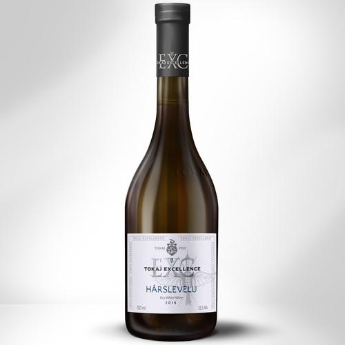 Label design for Tokaj Excellence Wine